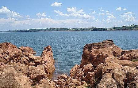 Represa de Jurumim - Espelho d'água é cenário para a prática de esportes