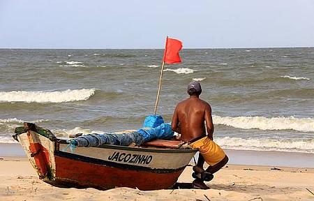 Bucolismo - Pescadores também enfeitam a paisagem