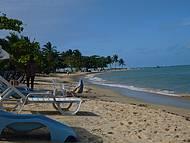 Barraca na praia do Muta