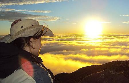 Espetáculo - Nascer do sol no Pico da Bandeira