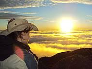 Nascer do sol no Pico da Bandeira