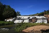 Cachoeira do Pimenta oferece bons banhos