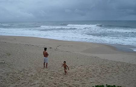 Praia Grande - Contemplando a Imensidão
