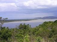 Costa da Lagoa - ao Fundo Moçambique e Barra da Lagoa
