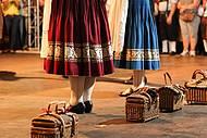 Danças típicas encantam o público