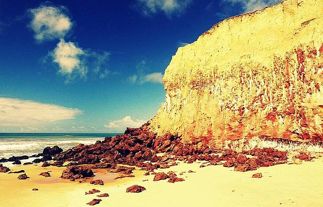 Passeio de buggy até esta maravilhosa praia
