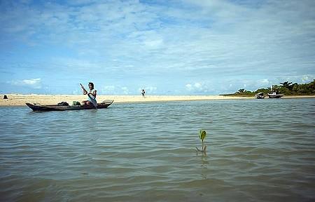 Ponta de Corumbau - Rio, mar e muita rusticidade