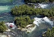 Rafting acontece no Rio Verde