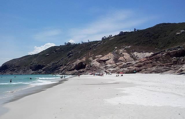Areia branquinha!