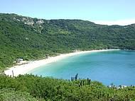 A praia mais linda que já vi.
