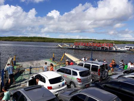 Porto Seguro - balsa para Arraial D'ajuda