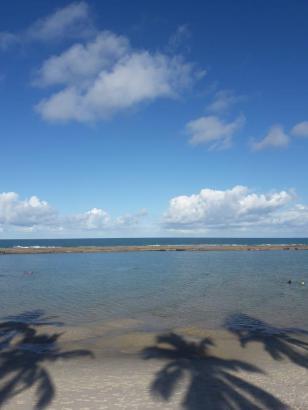 Praia Calma e Água Quentinha