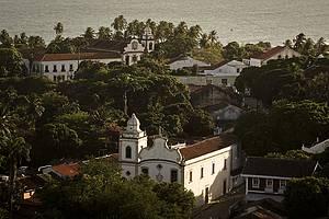 Andar a pé pelo centro histórico de Olinda