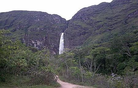 Cachoeira Casca d`Anta - Avistada de longe!