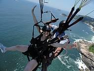 Voando Sobre a Praia do Pepino -