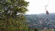 Vista do alto da cidade
