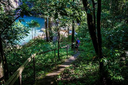 Cachoeira da Serra Azul - Da trilha, parte da beleza revelada