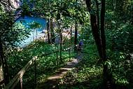 Da trilha, parte da beleza revelada