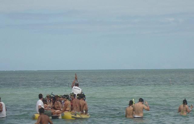 Chegada ao Parque Marinho de Recife de Fora