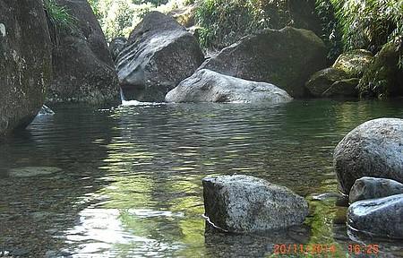 Cachoeira da esmeralda (camping club)