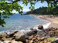 Vista da Chegada na Praia