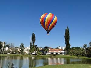 Parque das Águas: Balões deixam visual ainda mais bonito e colorido -