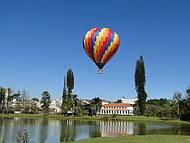 Balões deixam visual ainda mais bonito e colorido