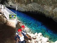 Gruta Lago Azul