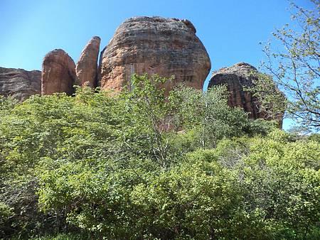 Parque Serra da Capivara - Serras belíssimas.