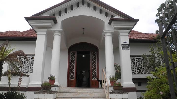 Foto tirada no museu de Xilogravura em Vila Jaguaribe
