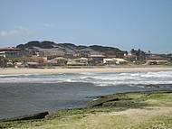 Encontro das águas na Barra do Cunhau