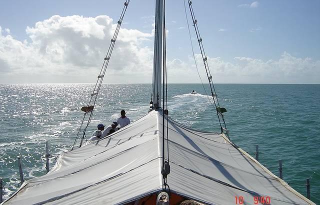 Um belo passeio de barco