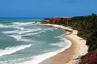 Paisagem encantadora na praia do Amor