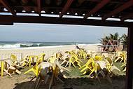 Visual da praia da Barra.
