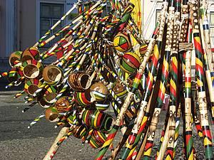 As cores e a graça da Bahia. E o som também!