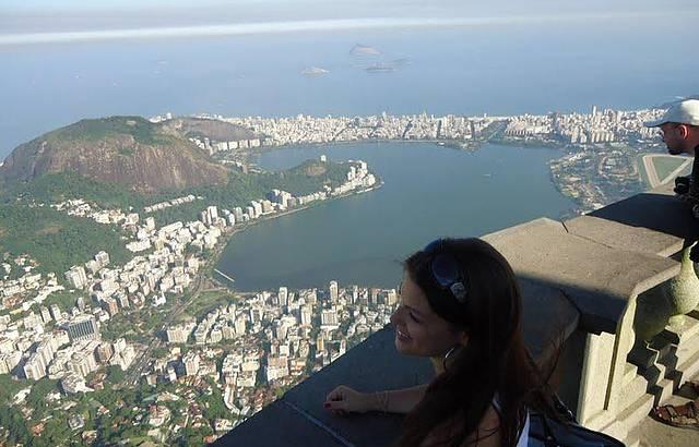 Vista da cidade maravilhosa!