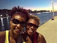 Final do passeio em Beira Mar-Fortaleza