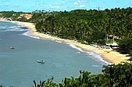 R�stica e charmosa, Espelho � uma das mais cobi�adas praias do Sul da Bahia