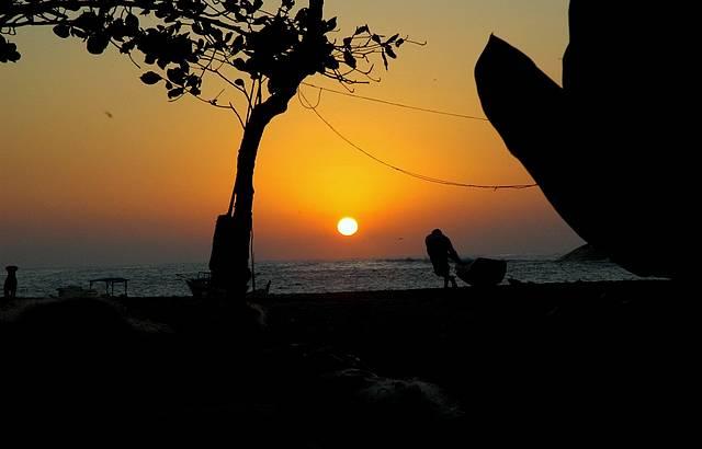 Nascer do sol em Serraria. Foto: Eduardo Bettin