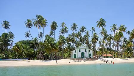 Praia de Carneiros - Passeio de Catamarã.