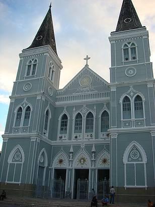 Essa é a Igreja da Catedral. Linda.