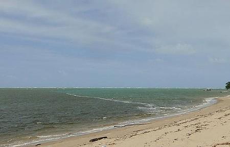 Foz do Rio Manguaba - Encontro do Rio Manguaba com o Mar