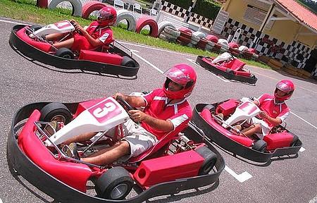 Center Kart - Adrenalina garantida nas corridas