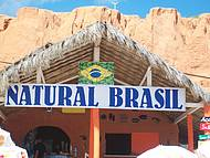 Barraca Natural Brasil. Uma barraca muito legal.