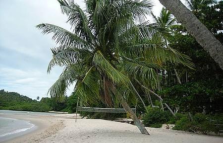 A paz da praia de Boipeba!