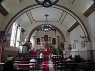 Interior da Capela de São Pedro