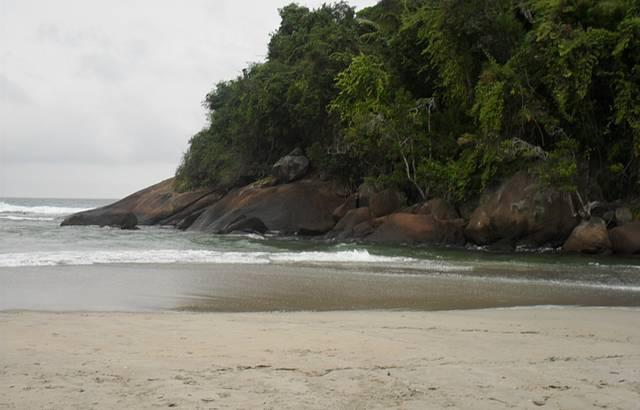 Itamambuca - praia preservada
