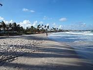 Caminhada a beira mar.