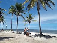 Passeio na praia do saco