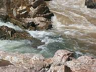 Encontro das águas dos rios São Miguel e Tocantinzinho